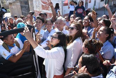 La Laguna cobijó a López Obrador.