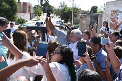 Llegó a Matamoros, Coahuila.