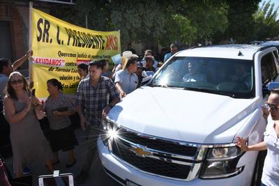 Además de apoyo, también hubo algunas peticiones a López Obrador.