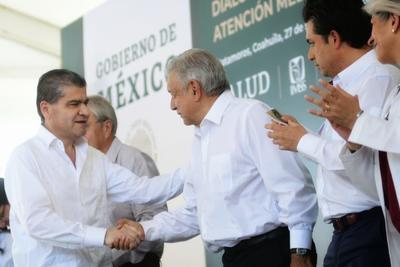 """Incluso, dijo que de todos los 62 hospitales que ha visitado de los 80 que existen, el de Matamoros es en el que """"están más reducidos en espacio, pues se fusionaron el IMSS-Bienestar con el régimen regular""""."""