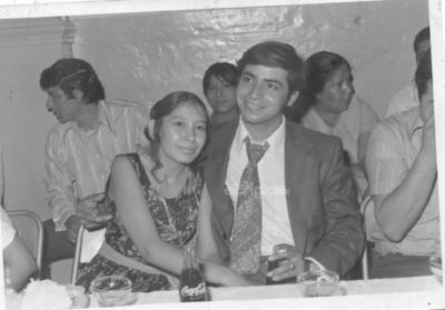 Laura Martínez y Juan Ávila hace algunas décadas.