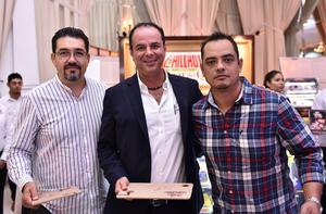 28092019 Francisco Yori, José Gómez y Marcos Torres.