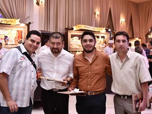 28092019 Emmanuel Castillo, Ismael Pasos, Carlos y Carlos Zárate.