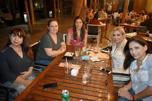 30092019 Rosy, Laura, Flor, Rocío y Pily.