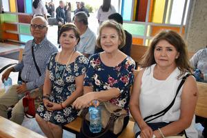 30092019 MISA POR ANIVERSARIO DE LA CAMERATA.  Carlos, Ana María, Gio y Silvia.
