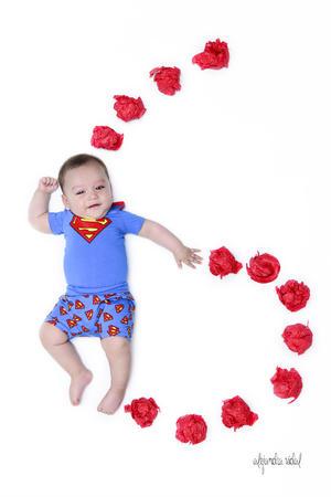 29092019 El pequeño Gabriel Tostado de Anda a sus 6 meses de edad.
