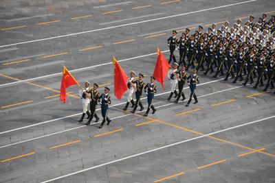 Se realizó un desfile.