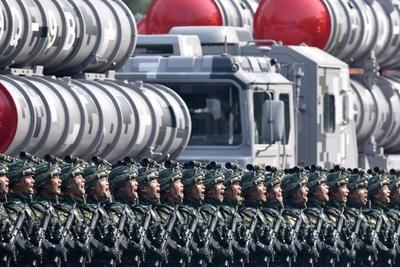 El Ejército mostró las armas más avanzadas del país.