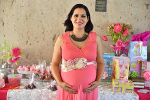 01102019 EN SU BABY SHOWER.  Edith Hernández de Cervantes espera la llegada de su pequeña Lisa.