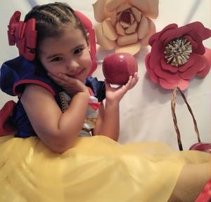 01102019 LINDA PRINCESA.  Sofi Morales en su cumpleaños.