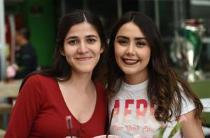 02102019 AMIGAS.  Alejandra Campos y Nicole Morato.