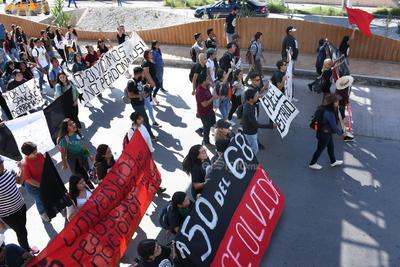 Salieron a las calles a expresar su postura respecto al movimiento.