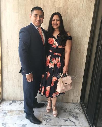 Eduardo Martínez y Susy Morales.