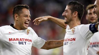 'Chicharito' anota y le da el triunfo al Sevilla