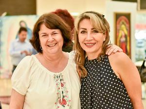 04102019 Gaby Nava y Rocío Jiménez.