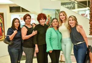 04102019 Maribel Rivas, Berenice Gómez, Rosario Rodríguez, Lupita Martínez, Ale Garza y Rocío Jimenez.