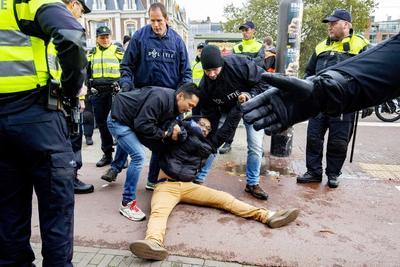 En las movilizaciones hubo ya algunos detenidos.