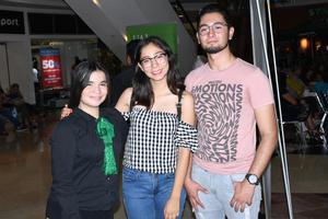 05102019 Julisa, Arlette y Miguel Ángel.