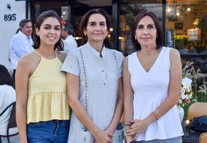 07102019 Romina, Cecilia y Eréndira.