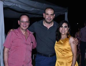 07102019 Mauricio Casas, Felipe Tavares y Karina Plascencia.