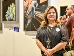 05102019 EN UNA EXPO.  Eugenia Castro.