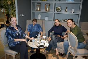 07102019 Mary Carmen, Ana Patricia, Sabine y Mary Carmen.