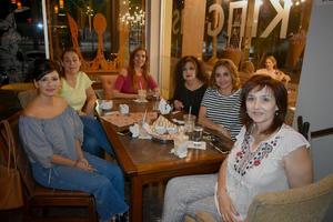 07102019 Laura, Daniela, Mónica, Elisa, Silvia y Natalia.