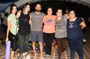 07102019 AMORTIZACIóN SONORA.  Oli, Brenda, Anuar, Silvia, Amanda y Claudia participaron en reciente evento.