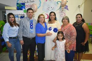07102019 BABY SHOWER.  Eli Emmanuel y Cecilia pronto serán papás, por lo que les fue organizada una fiesta de regalos para bebé en la que estuvieron, Juanita, Cecilia, Fernanda, Cecilia e Idali, entre otros.