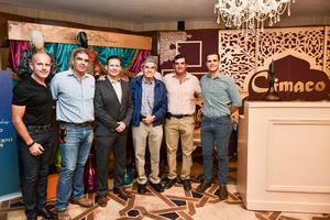 05102019 Raúl Anzures, Gilberto Martínez, Carlos Arenal, Eduardo Murra, Alfredo Murra y Óscar Murra.
