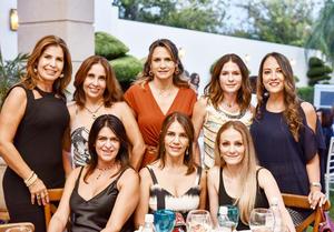 Celina, Martha, Vicky, Brenda, Marigel, Claudia, Gloria y Lucero.