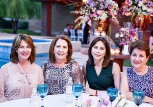 Gabriela, Irma, Lulu y Maru.