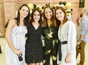 Alejandra Zermeño, Susana Flores, Ileana Villa y María Idalia Chapa.