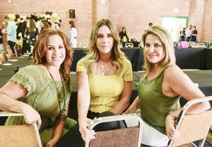 Gaby Saavedra, Ana Maynez y Gabriela del Bosque.