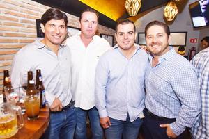 Pancho, Gerardo, manolo y Pedro