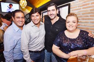 Ricardo, pancho, Carlos y marilu