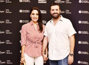 Arturo y Marcela Ortiz.