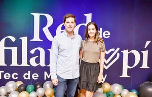 Carlos Villarreal y Ana Laura Allegre.