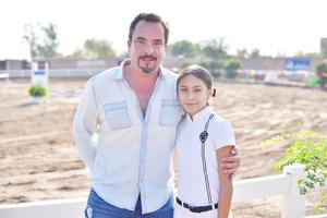 Carlos y Luciana.