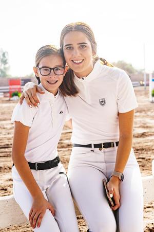 Sofía y Natalia.