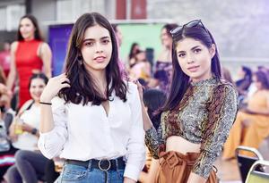Eva Alicia Torres y Fernanda Ramirez.