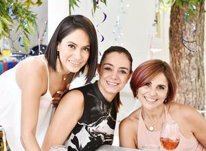 Ely Aguero, Lili Reyes y Rosy Ruiz.