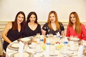 Ana Elisa, blanca, nayos y Karla