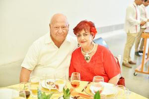 Luis Enrique y Tere