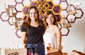 Noelie Cabello y Gretel Furrer.