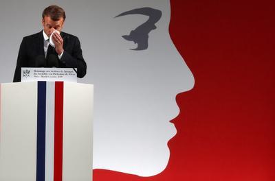 En el acto, se otorgó póstumamente a las cuatro víctimas el premio más alto de Francia, la Legión de Honor.