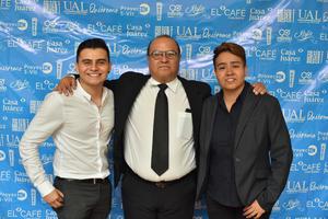 09102019 PRESENTARON CORTOMETRAJE.  Gerardo, Luis Solares y Mixté.