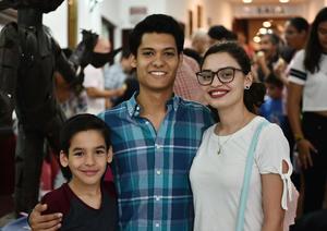 09102019 Juan Aurelio Cárdenas, Rodrigo Romo y Mariela Acosta.