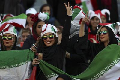 Las autoridades iraníes no han permitido hasta ahora a las mujeres acudir a los estadios.