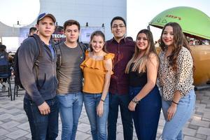 11102019 J osé, Ricardo, Astrid, Gerardo, Angélica y Laura.